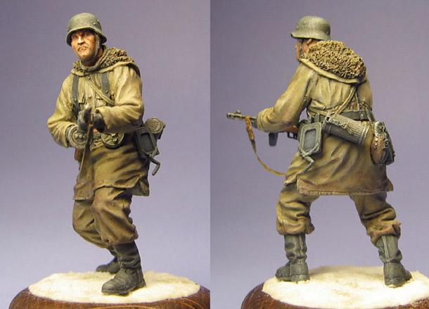 Фигурки: Унтер-офицер СС