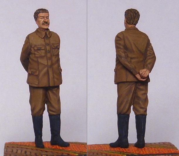 Фигурки: И.В.Сталин