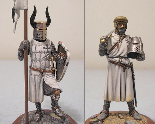 Фигурки: Рыцари Тевтонского Ордена