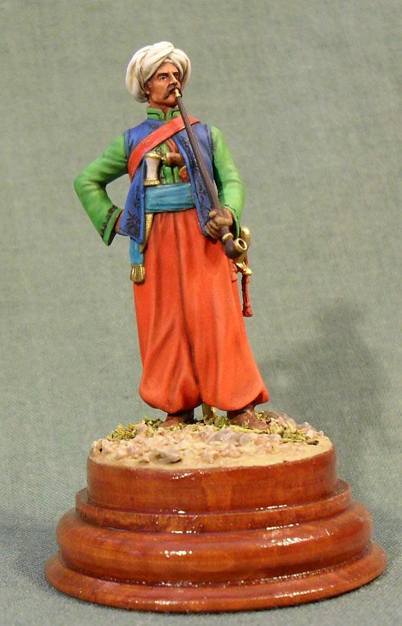 Фигурки: Мамелюк с трубкой, фото #1