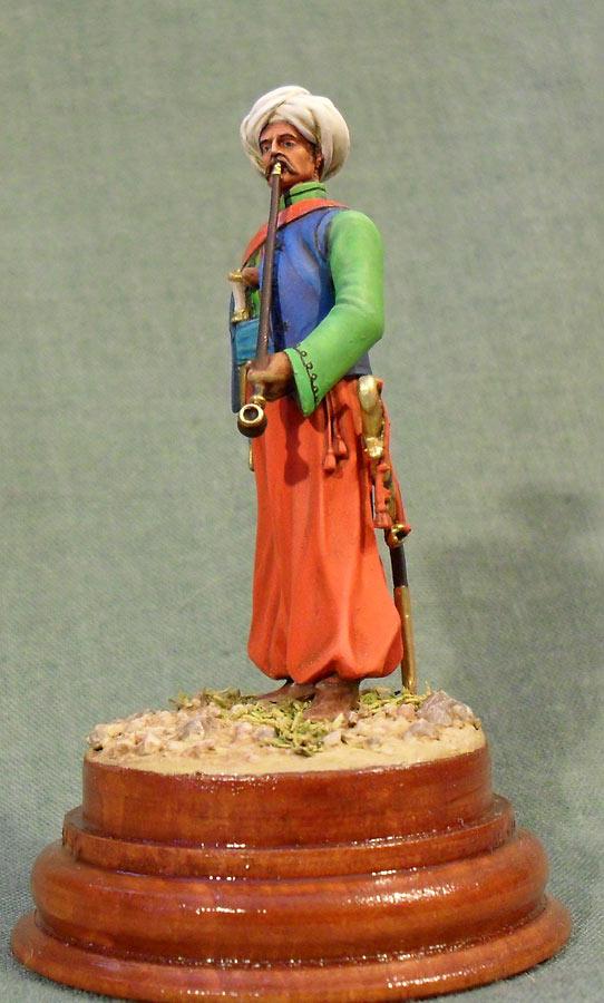 Фигурки: Мамелюк с трубкой, фото #2