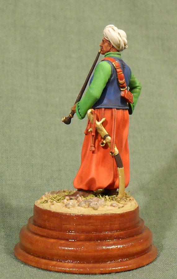 Фигурки: Мамелюк с трубкой, фото #3