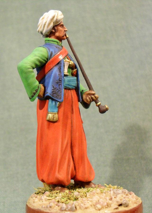 Фигурки: Мамелюк с трубкой, фото #5