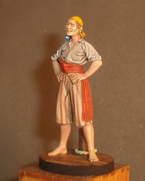 Фигурки: Пират, Мадагаскар, XVI век, фото #2