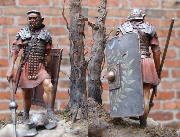 Фигурки: Римский легионер 1в. н.э.