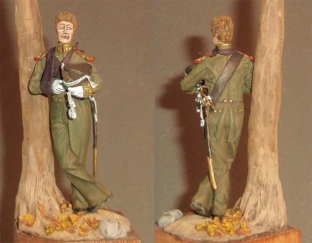 Скульптура: Обер-офицер Гвардейского Морского Экипажа, 1813 г.