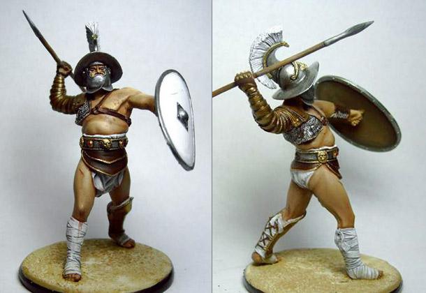 Фигурки: Римский гладиатор