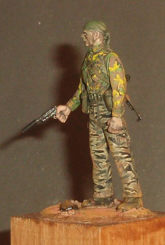 Скульптура: U.S. Navy SEAL, Вьетнам, 1968, фото #2
