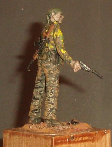 Скульптура: U.S. Navy SEAL, Вьетнам, 1968, фото #3
