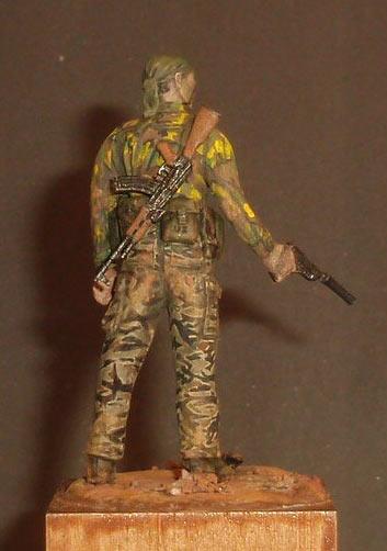 Скульптура: U.S. Navy SEAL, Вьетнам, 1968, фото #4