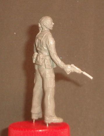 Скульптура: U.S. Navy SEAL, Вьетнам, 1968, фото #8