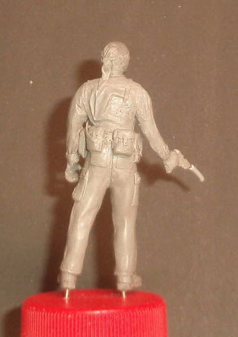 Скульптура: U.S. Navy SEAL, Вьетнам, 1968, фото #9