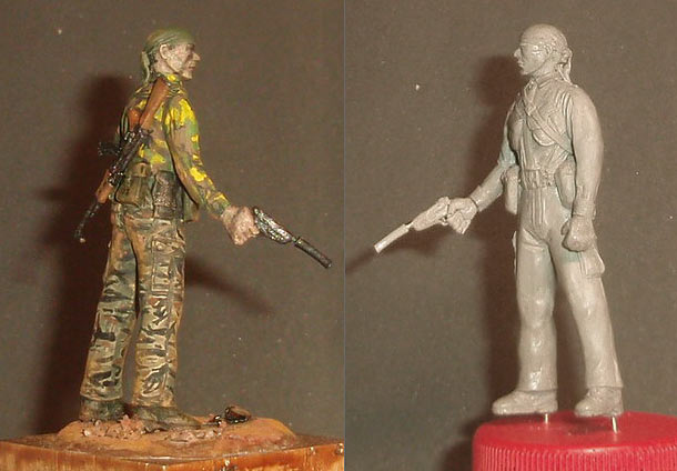 Скульптура: U.S. Navy SEAL, Вьетнам, 1968