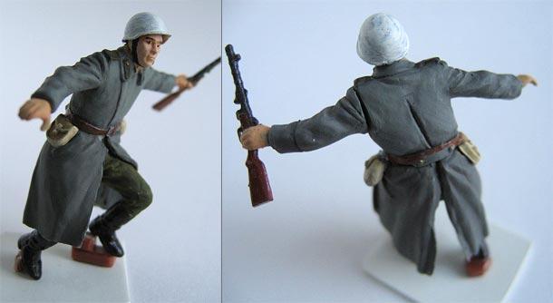 Учебка: Советский пехотинец, 1943-45 гг.