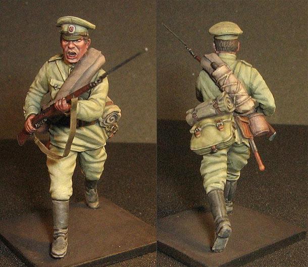 Фигурки: Пехотинец Российской Императорской Армии, 1МВ