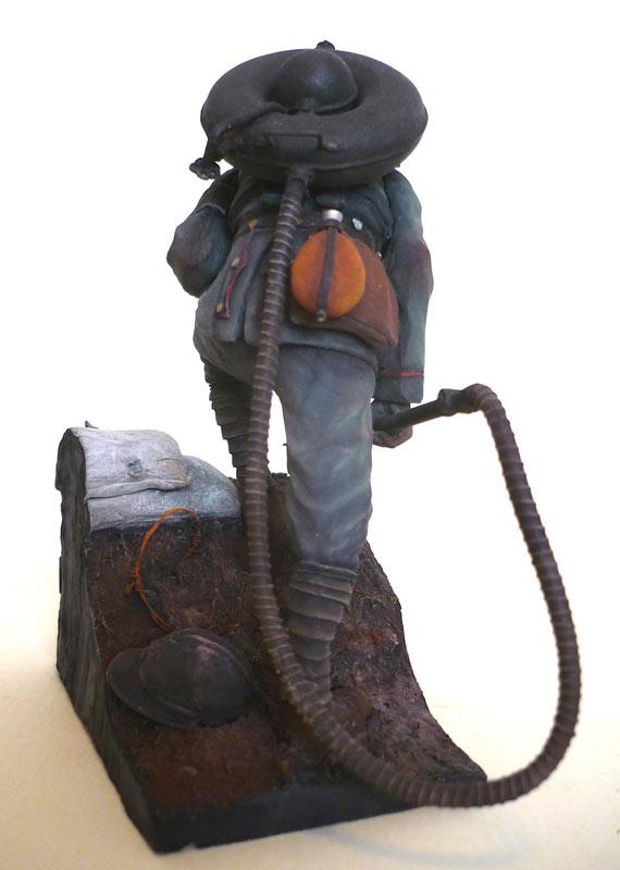 Фигурки: Огнеметчик штурмовой роты 21-й резервной дивизии, 1917, фото #5