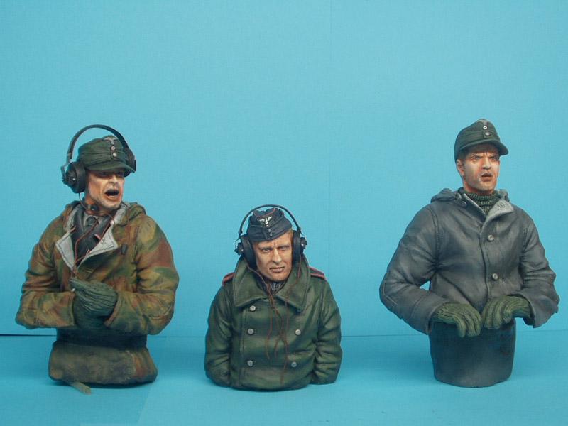 Фигурки: Немецкий танковый экипаж, фото #15