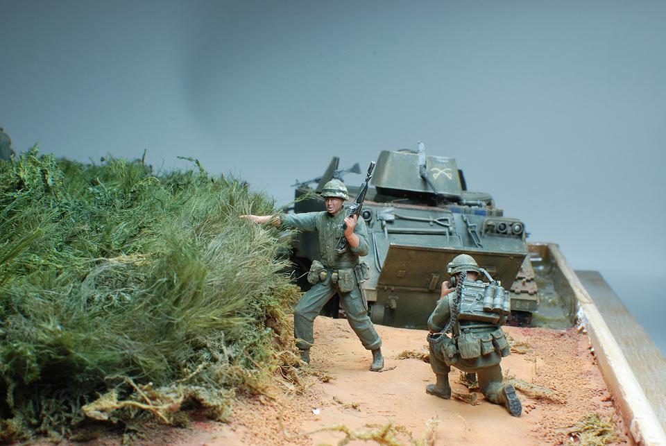 Диорамы и виньетки: Drop zone under attack!.., фото #8