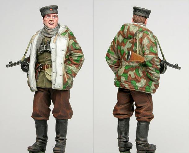 Фигурки: Командир партизан