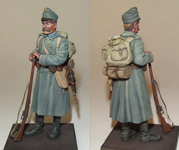 Фигурки: Пехотинец Австро-Венгрии, 1МВ