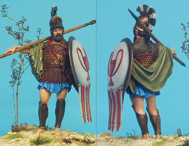 Фигурки: Греческий воин