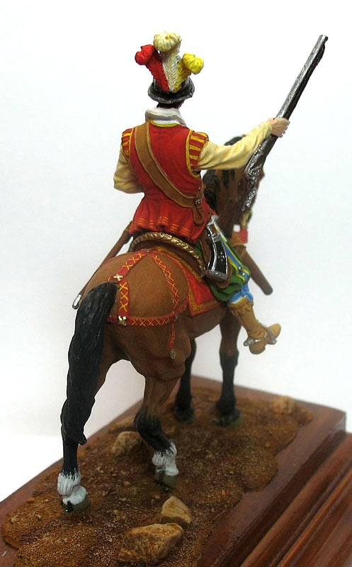 Фигурки: Конный аркебузир, начало XVIIв., фото #6