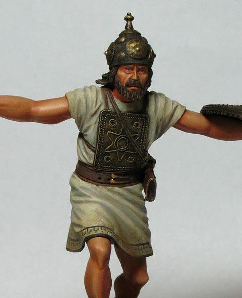 Фигурки: Италийский воин, VI-V вв. до н.э., фото #1