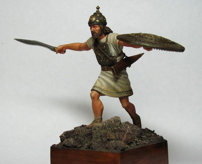 Фигурки: Италийский воин, VI-V вв. до н.э., фото #3