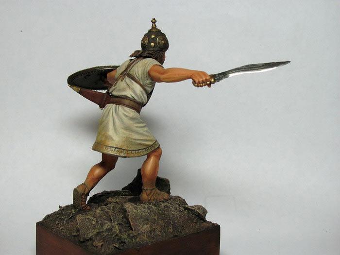 Фигурки: Италийский воин, VI-V вв. до н.э., фото #4