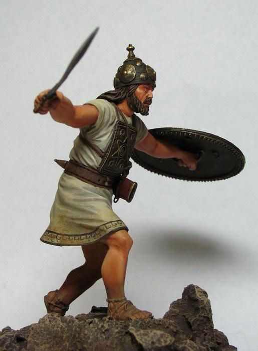 Фигурки: Италийский воин, VI-V вв. до н.э., фото #5