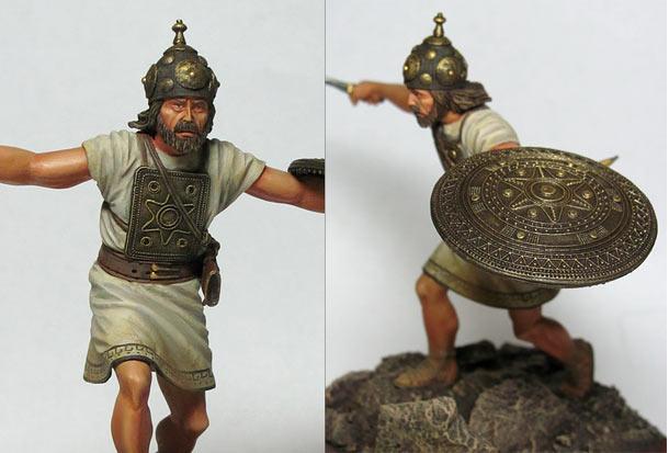 Фигурки: Италийский воин, VI-V вв. до н.э.