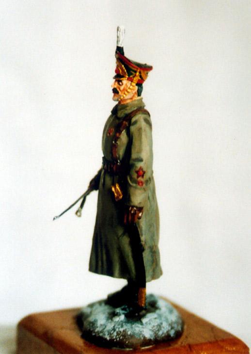 Фигурки: Русский артиллерист, 1918, фото #1