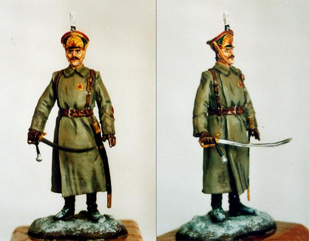 Фигурки: Русский артиллерист, 1918