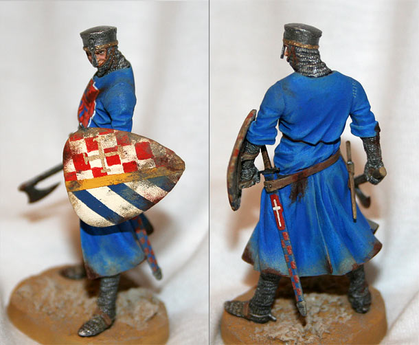 Фигурки: Антиохийский рыцарь, XIIв.