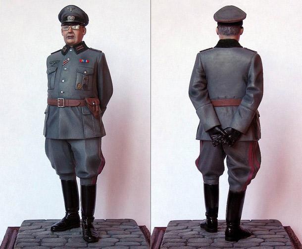 Фигурки: Офицер Генштаба Вермахта