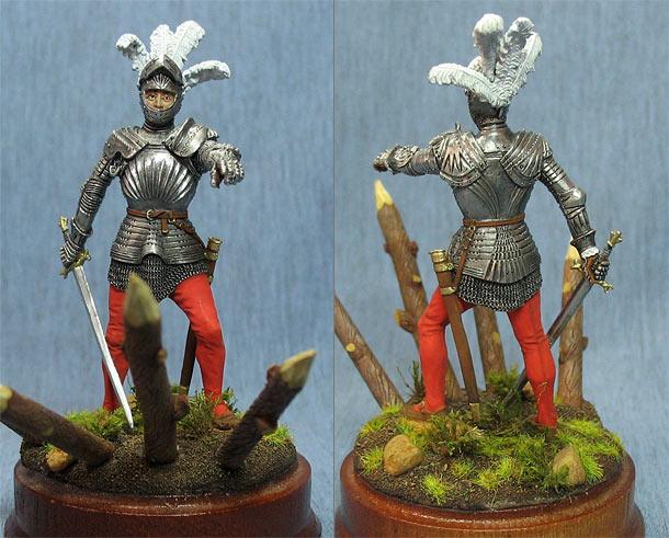 Фигурки: Немецкий рыцарь