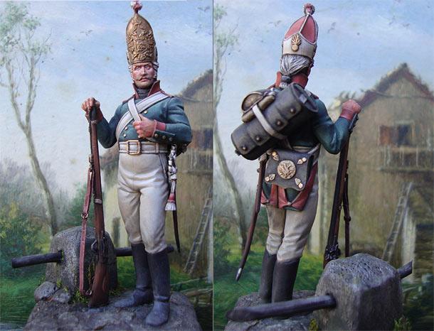 Фигурки: Гренадер Павловского полка, нач.19 в