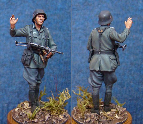 Фигурки: Немецкий офицер
