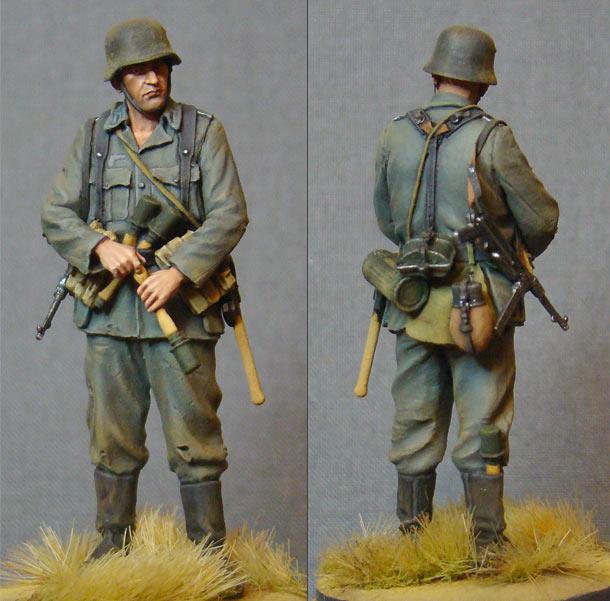 Фигурки: Солдат Вермахта, 1942г.