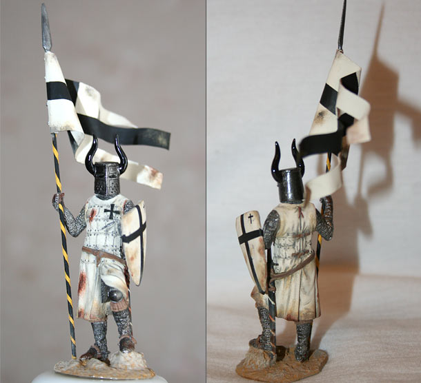 Фигурки: Рыцарь ордена Дома Тевтонского