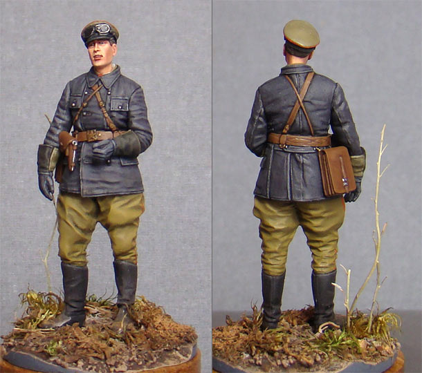 Фигурки: Советский офицер-танкист