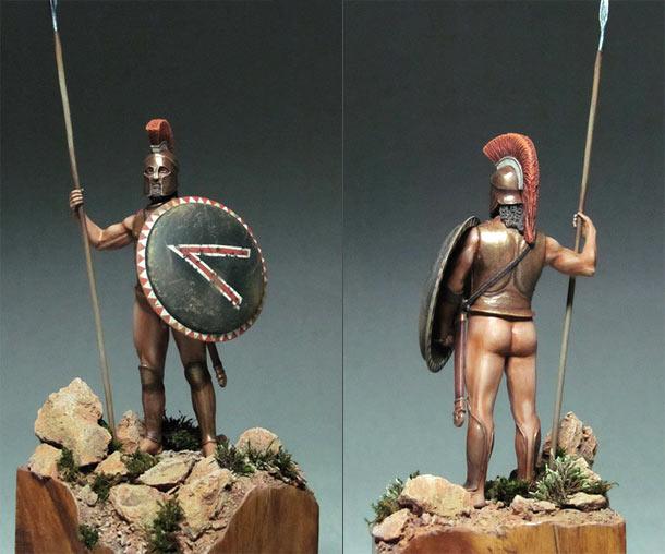 Фигурки: Спартанский герой