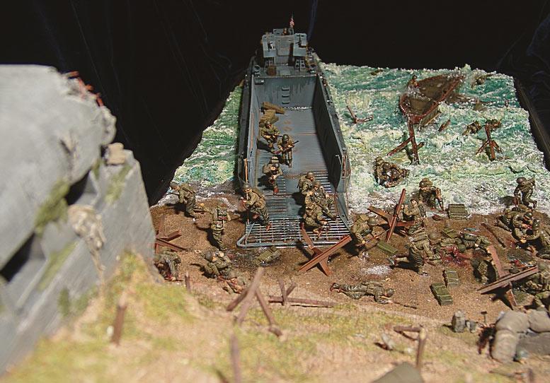 Диорамы и виньетки: Высадка союзников в Нормандии, фото #4