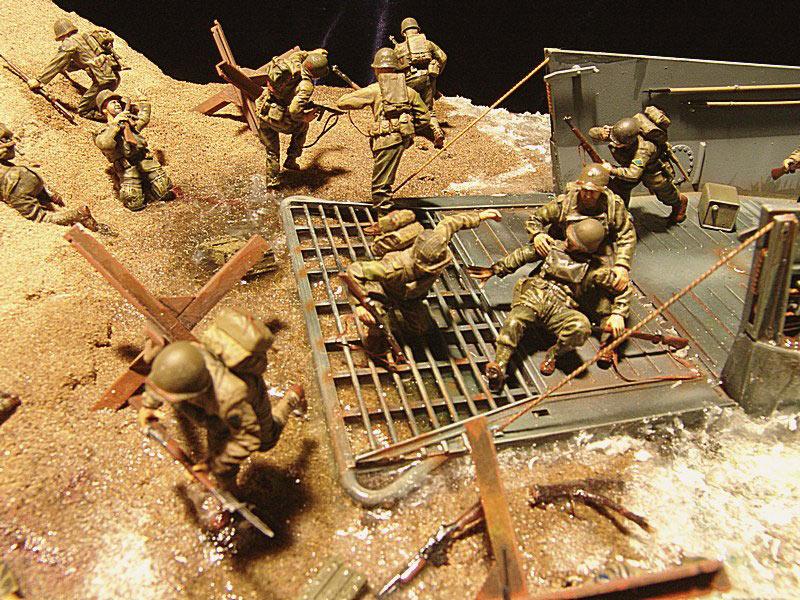 Диорамы и виньетки: Высадка союзников в Нормандии, фото #6