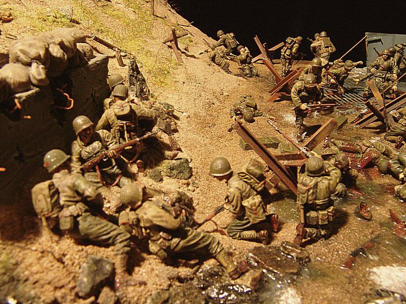 Диорамы и виньетки: Высадка союзников в Нормандии, фото #7