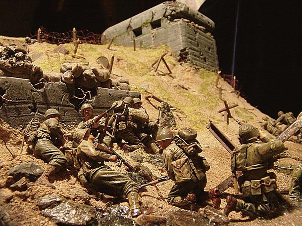 Диорамы и виньетки: Высадка союзников в Нормандии