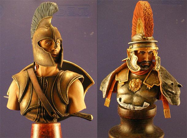 Фигурки: Центурион и Ахиллес