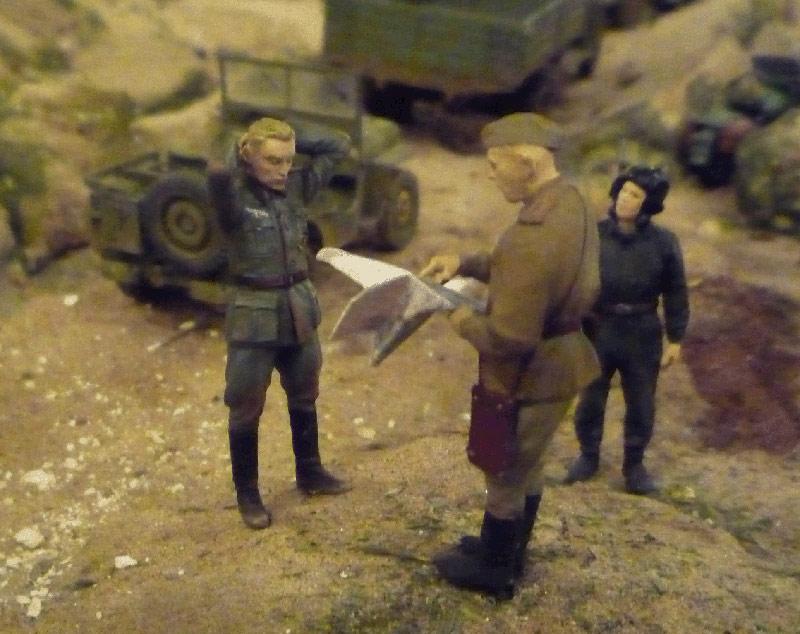 Диорамы и виньетки: На линии Вотана. Октябрь 1943 г., фото #9