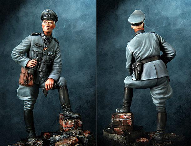 Фигурки: Офицер вермахта, Германия, 1940-41гг.