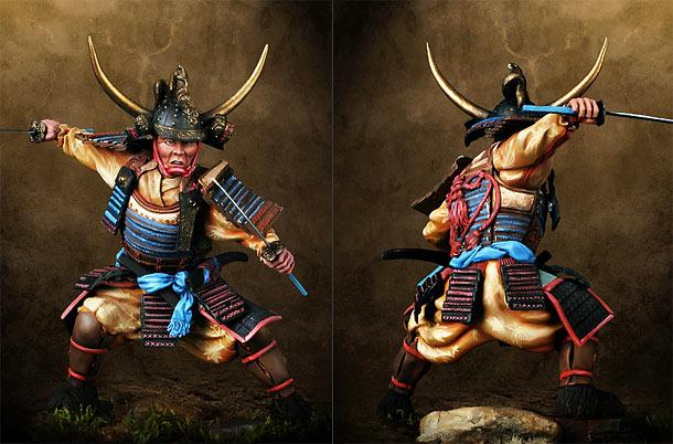 Фигурки: Генерал-самурай, Япония, XVI век